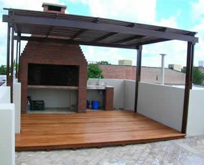 Carpinter a y ebanister a j j trivi o - Estructuras de madera para techos ...